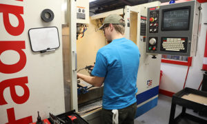 Savannah Company's precision machining services include CNC and manual milling equipment.
